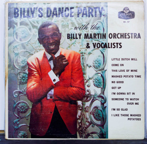Billy Martin Orchestra & Vocalists, Billy`s Dance Party LP